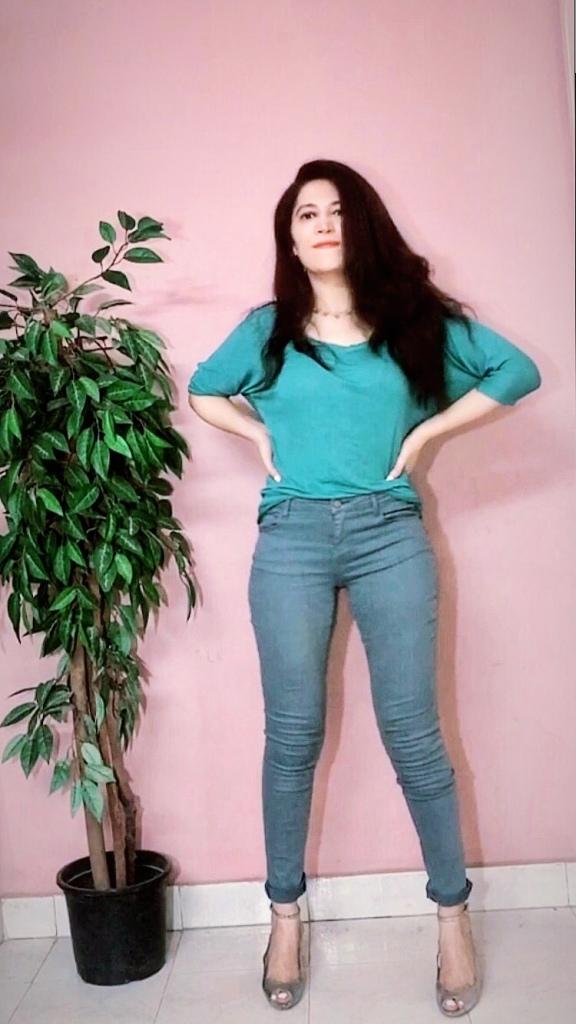Promod pants, Zara top