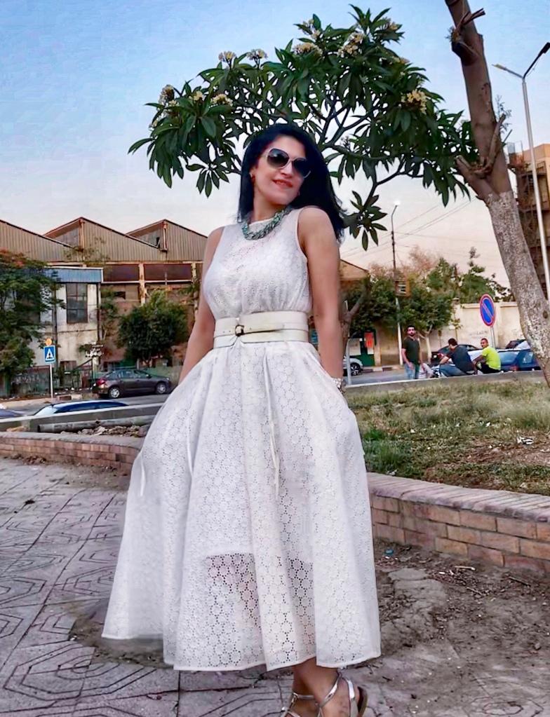Promod belted shirt dress